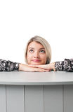 Office girl Stock Image