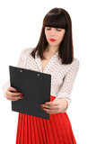 Office girl Royalty Free Stock Image