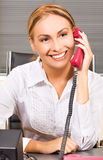 Office girl Stock Images