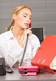 Office girl Royalty Free Stock Photo
