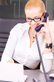 Office girl Royalty Free Stock Photography