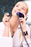 Office girl Royalty Free Stock Photos