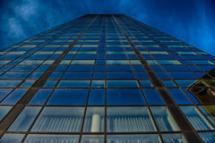 Office glass building in abstract Royalty Free Stock Photo