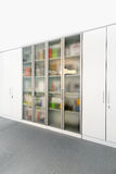 Office glass cabinet Stock Photography