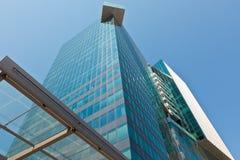 Office glass skyscraper building Stock Image