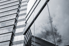 Office glass windows background Royalty Free Stock Photos