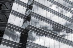 Office glass windows background Stock Photos