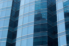 Office glass windows background,Hong Kong, Asia. Royalty Free Stock Images