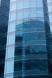 Office glass windows background,Hong Kong, Asia. Stock Photo