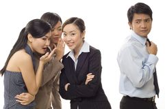 Office Gossip 2 Stock Photo