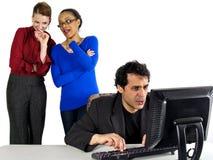 Office gossip Stock Photos