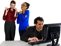 Office gossip Royalty Free Stock Photo