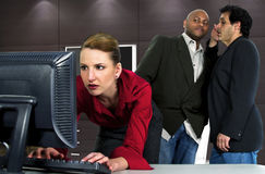 Office Gossip Stock Photography