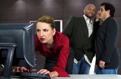 Office Gossip Stock Photography