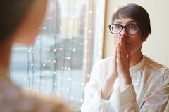Office Gossip at Coffee Break Royalty Free Stock Photography