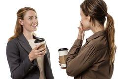 Office gossip Stock Photo