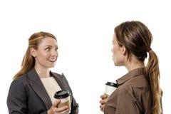 Office gossip Stock Images
