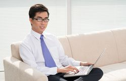 Office guy Royalty Free Stock Photography