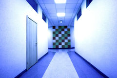 Office hall Royalty Free Stock Images