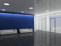 Free Office Hall Royalty Free Stock Image - 9071606