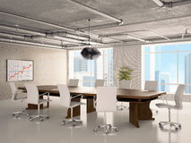 Office - a hall for meetings Stock Images