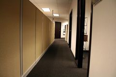 Office Hallway Stock Photography