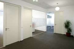 Office hallway Royalty Free Stock Photography