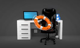 Office help concept Royalty Free Stock Images