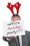 Office holiday party Stock Photography