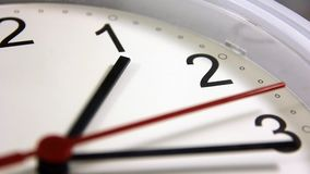 Office, home, or school wall clock.  stock video footage