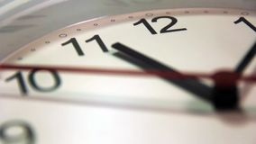 Office, home, or school wall clock.  stock footage