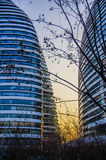 Office or Hotel Building, Beijing Royalty Free Stock Photos