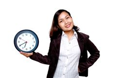 Office hour royalty free stock photography