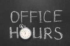 Free Office Hours Gr Stock Photography - 66334762