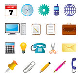 Office icon. Illustration of office icon collection Stock Photos
