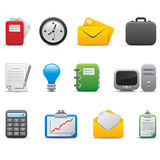 Office icon Royalty Free Stock Photos