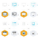 Office icon 4 design computer, presentation, Calendar, image   Royalty Free Stock Photos