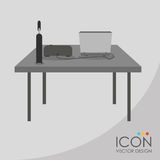 Office icon design Royalty Free Stock Photos