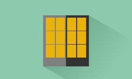 Office. Icon office flat design Royalty Free Stock Photos