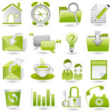 Office icon set Stock Photo
