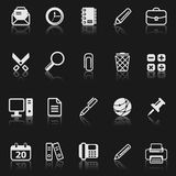 Office icon set. Royalty Free Stock Image
