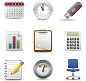 Office icon set 2 Royalty Free Stock Photography