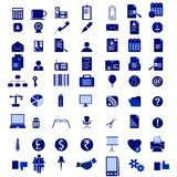 Office Icon Set Stock Image