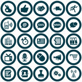 Office  icon set Stock Photography