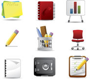 Office icon set 3 Stock Image