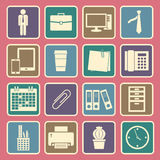 Office icon vector illustration