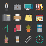 Office icon royalty free illustration