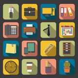 Office icon stock illustration