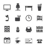 Office icon Set Stock Photos