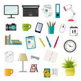 Office icon set Royalty Free Stock Image